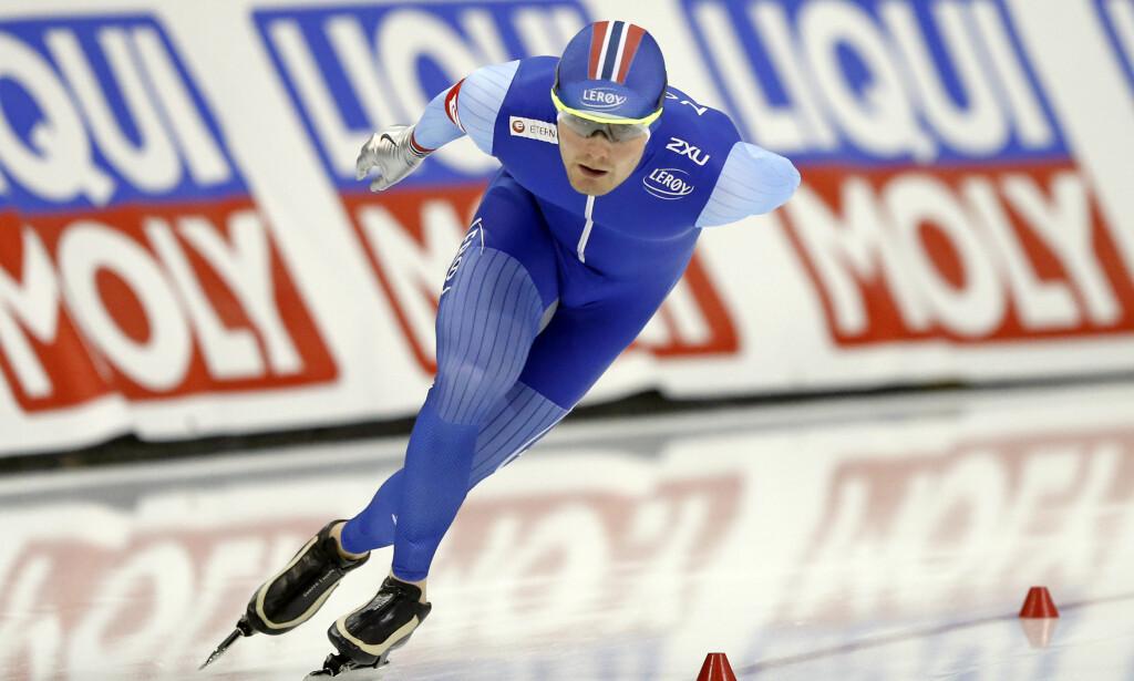 2. PLASS: Sverre Lunde Pedersen gikk inn til en 2. plass under et løp i Erfurt. Her fra et løp i Utah tidligere i sesongen. AP Photo/Rick Bowmer
