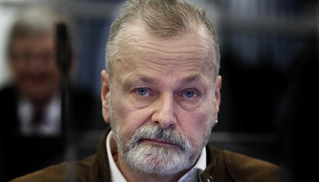 DØMT: Den tidligere politimannen Eirik Jensen ble dømt til 21 års fengsel for korrupsjon og å ha bidratt til narkosmugling. Dommen falt 18. september 2017. Foto: NTB Scanpix