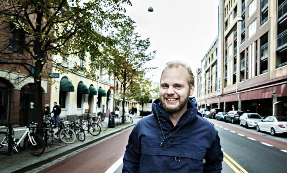 Gir ikke effektivt: Nyhetssjef i Klassekampen, Mímir kristjánsson. Foto: Nina Hansen / Dagbladet