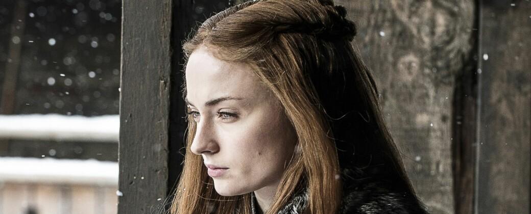 Game of Thrones: Sophie Turner spiller en av hovedkarakterene i Game of Thrones – nemlig Sansa. FOTO: Scanpix