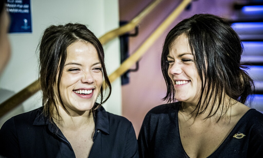 «FARMEN KJENDIS»: Kristine og Johanne Thybo Hansen. Foto: Christian Roth Christensen / Dagbladet