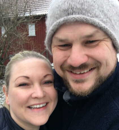 TIL OSLO: Erik Grytnes skal feire jul hos familien til Maria Bjørndal i år. Foto: Privat