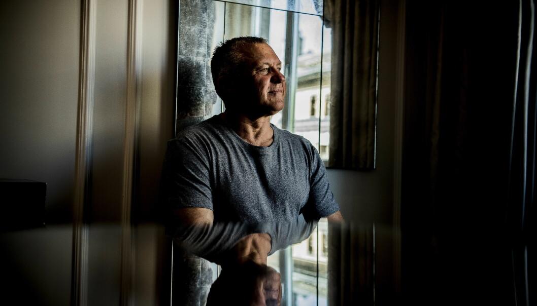 TRIVES ALENE: Rolf Gjølstad sier at han ikke har møtt noen damer etter «Jakten»-innspillingen. Foto: Thomas Rasmus Skaug / Dagbladet