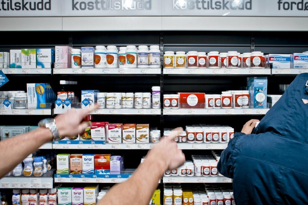 KOSTTILSKUDD: Vitamin- og mineraltilskudd kan ikke erstatte et godt og variert kosthold. Foto: NTB SCANPIX / VG/Fotograf: Sørbø, Krister