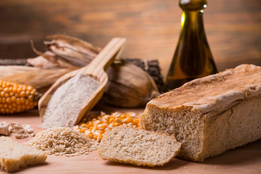 VIKTIG: matvarer som inneholder gluten, det vil si korn og kornvarer, er viktige kilder til blant annet protein, kostfiber, B vitaminet folat, vitamin E og jern. Foto: NTB Scanpix