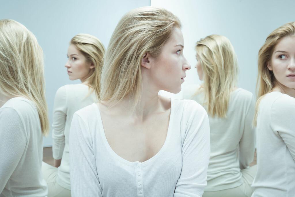 SCHIZOFRENI: Typiske trekk ved schizofreni er vrangforestillinger, hallusinasjoner og tankeforstyrrelser. Foto: NTB Scanpix