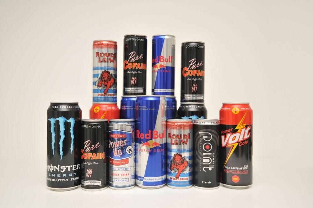KOFFEIN: Barn skal ikke ha sentralstimulerende drikke som energidrikk. Foto: NTB Scanpix