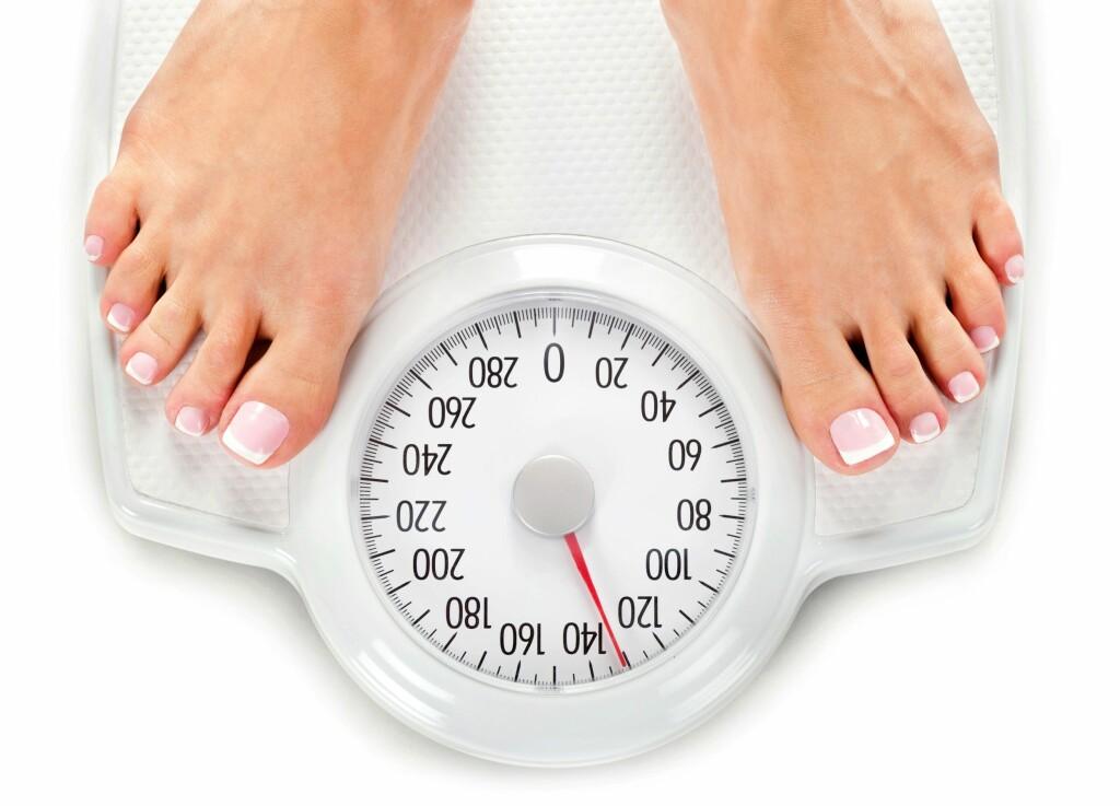 OVERVEKT: Har du en BMI høyere enn 25 tyder det på overvekt.  Foto: NTB Scanpix