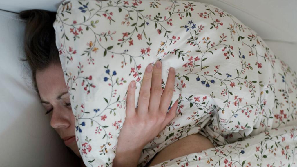 """MIGRENE MED AURA: Har du migrene med aura vil du oppleve forbigående visuelle forstyrrelser, som lysglimt, synstap og følelse av å bli stukket med nåler. Foto: NTB Scanpix / Plainpicture v. Barbara K""""del"""
