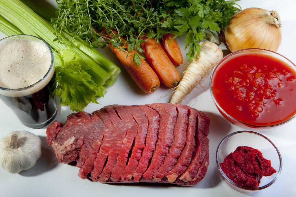 RIK PÅ VITAMIN K2: Vitamin K2 finnes for eksempel i kjøtt, lever, melkeprodukter og eggeplomme.  Foto: Foto: NTB Scanpix