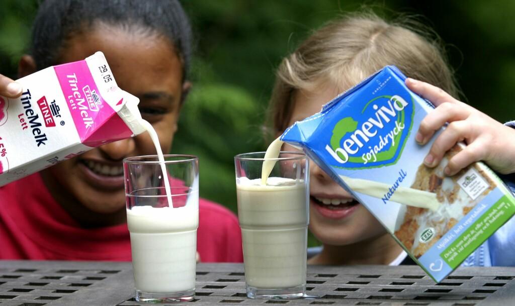 Har du melkeproteinallergi eller er det en laktoseintoleranse? Foto: Samfoto/NTB Scanpix