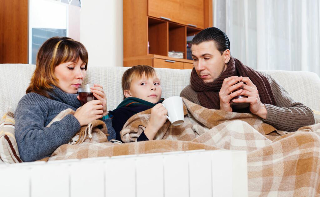 DERFOR FRYSER VI: Noen fryser lettere enn andre, kvinner mer enn menn, personer med mye underhudsfett mindre enn personer med lite.  Foto: NTB Scanpix/Shutterstock
