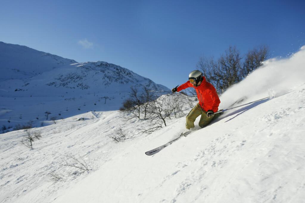 PAKK SMART: Med førstehjelpsutstyret i orden kan du virkelig nyte påsken i fjellet.  Foto: NTB/Scanpix, Nils-Erik Bjørholt