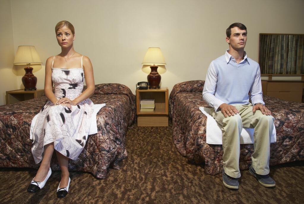 IKKE TRO PÅ ALT DU HØRER: Feil forventning om sex kan gjøre mer skade enn du tror.  Foto: Scanpix