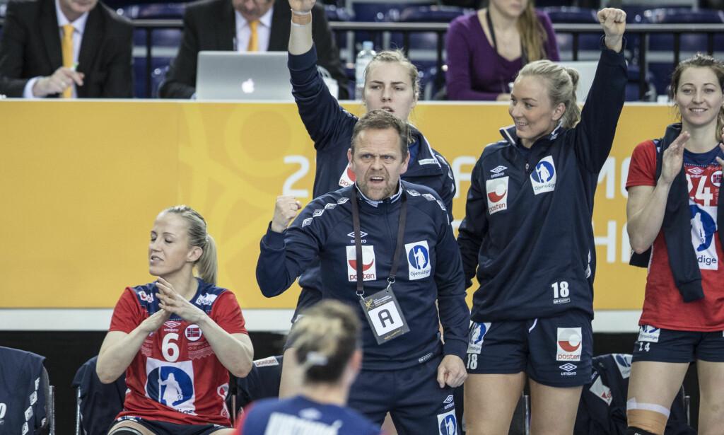 IRRITERT: Thorir Hergeirsson i VM. Foto: Vidar Ruud / NTB scanpix