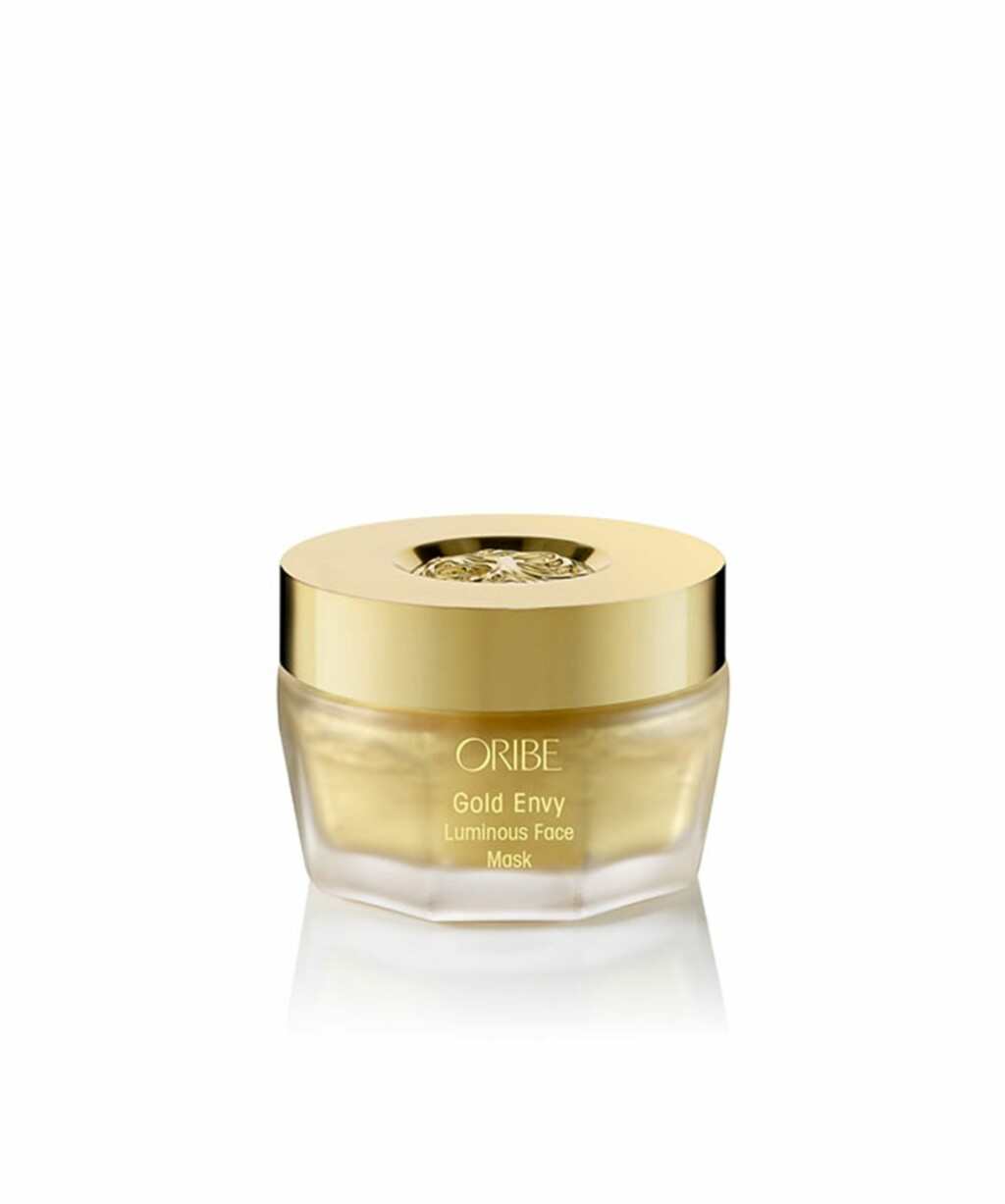 Ansiktsmaske (kr 950, Oribe, Gold Envy Luminous Face Mask).