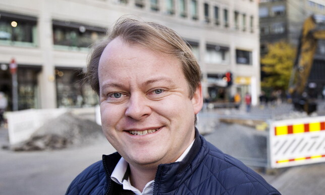 ÅPNER REGISTERET: Erlend Wiborg (FrP) vil ha et åpent Konkursregister, slik man har i Storbritannia. Foto: Henning Lillegård / Dagbladet.