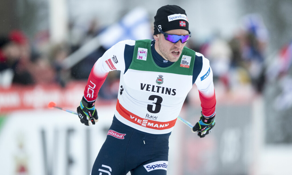 VANNKOPPER: Pål Golberg har fått vannkopper. Foto: Terje Pedersen / NTB scanpix