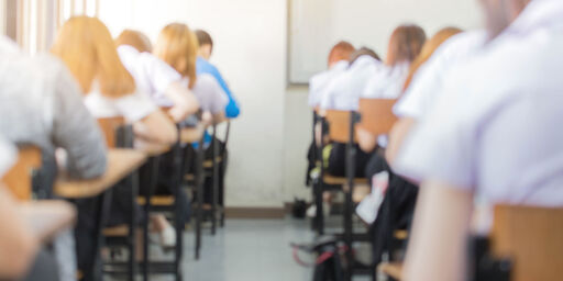 image: Å droppe tentamen er ikke måten å redusere elevenes stress på