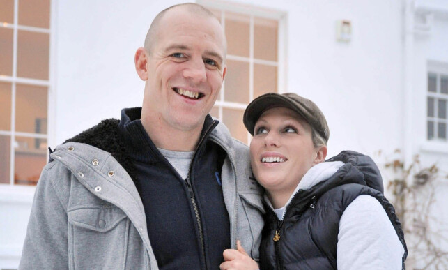 UTEBLE FRA FEIRINGA: Zara Phillips sammen med sin daværende forlovede - nå ektemann - Mike Tindall etter at duoen forlovet seg i 2010. Foto: NTB Scanpix