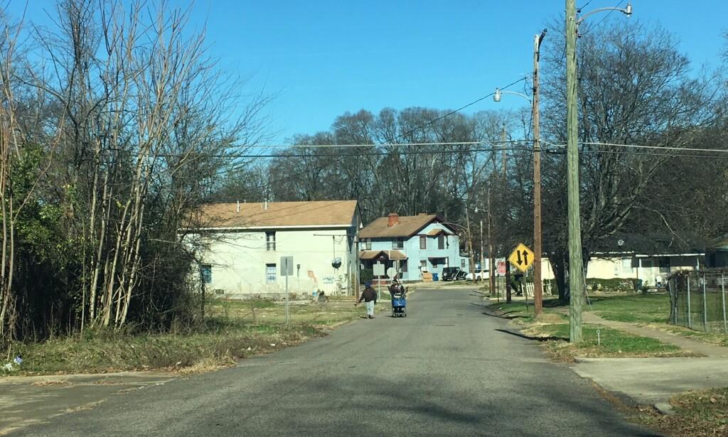 FATTIGDOM: Hele USA har fulgt med på hva som skjer i Alabama den siste tiden, men det er politikken og ikke fattigdommen som har stått i sentrum. Foto: Vegard Kristiansen Kvaale