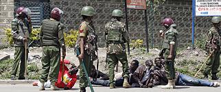 image: Kenyansk politi anklages for gjengvoldtekter under valguro