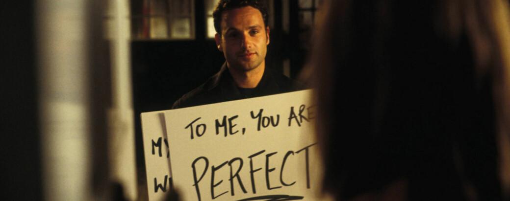 FILM: «Love Actually» er en av de mest kjente julefilmene noen sinne. FOTO: Skjermdump