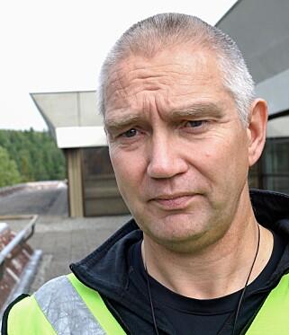 DELER ERFARING: Stein Sletten var livvaktsleder under angrepet på Serena Hotel i Kabul i 2008 og jobber nå som instruktør for livvaktene i PST. Foto: Øistein Norum Monsen / Dagbladet