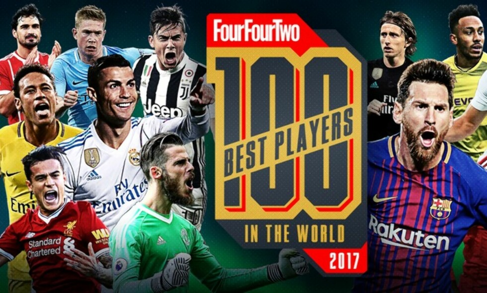 100 BESTE SPILLERNE I VERDEN: Her er FourFourTwos kåring av planetens beste spillere. Foto: FourFourTwo