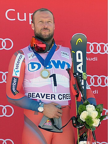 VINNERSJANSE: Aksel Lund Svindal håper på medalje i helgen.