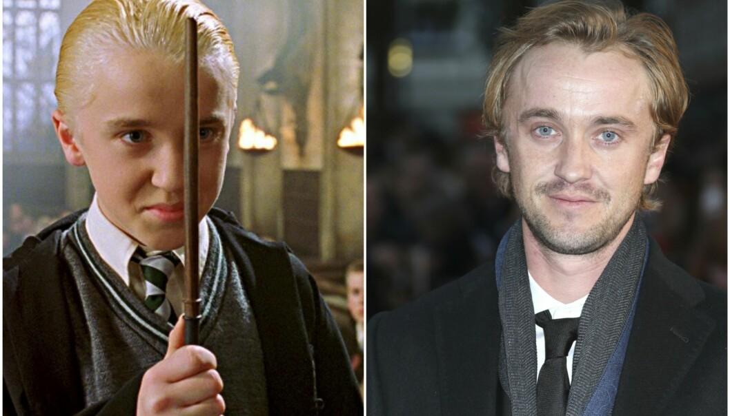 <strong>ELSKET SKURK:</strong> Tom Felton spilte rollen som Draco Malfoy så bra, at han fikk to priser for innsatsen. Foto: Harry Potter / NTB Scanpix