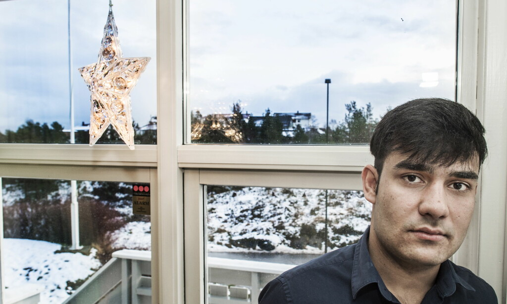 FRYKTER FOR FRAMTIDA: Rahim Ullah Rahimi er ifølge seg sjøl akkurat fylt 18 år, men UDI og UNE mener alderstester av tenner og skjelett viser at afghaneren er minst ett år eldre. Men Stortingsvedtaket om oktoberbarna fra november gjør at Rahimi kanskje får vurdert saken sin på nytt. - Jeg har sluttet å drømme om framtida, men håper Norge til slutt vil hjelpe oss, sier Rahimi. Foto: Hans Arne Vedlog / Dagbladet