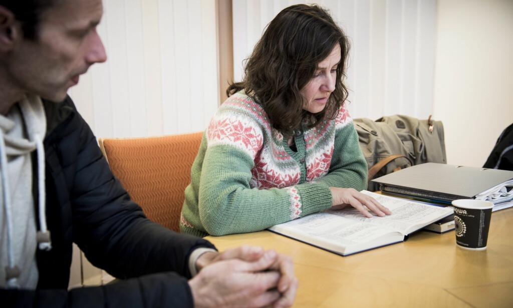 SENTRALT BEVIS: Oddmunds dagbok er et sentralt bevis i rettssaken, som nå er utsatt på ubestemt tid. Foto: Lars Eivind Bones / Dagbladet