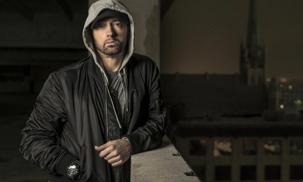 KONSERT: Alle billettene til Eminem-konserten i Oslo til sommeren er revet bort. Foto: NTB scanpix