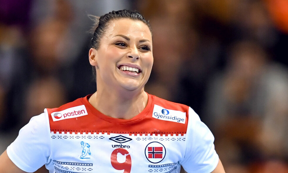 TIL FINALE: Nora Mørk scoret sju mål mot Nederland. Foto: Carl Sandin / BILDBYRÅN