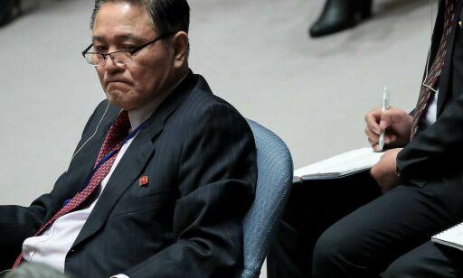 image: Nord-Korea møtte i Sikkerhetsrådet: -USA er livredde for vår republikks enorme styrke