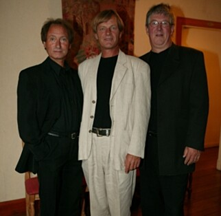 MUSIKERE: De tre artistene har stått sammen på scenen siden 1967, nærmere 25 år før suksessen med «The Julekalender». Her er de avbildet i 1994. Foto Se og Hør.