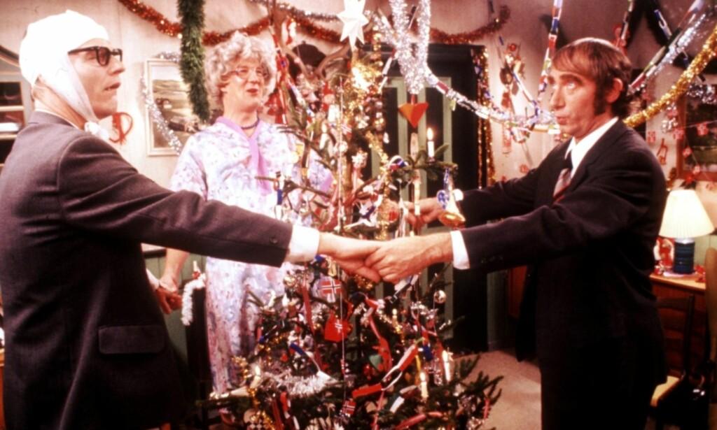 KJENT SCENE: Mange generasjoner nordmenn har sett «The Julekalender» på TV 2. Foto: NTB Scanpix