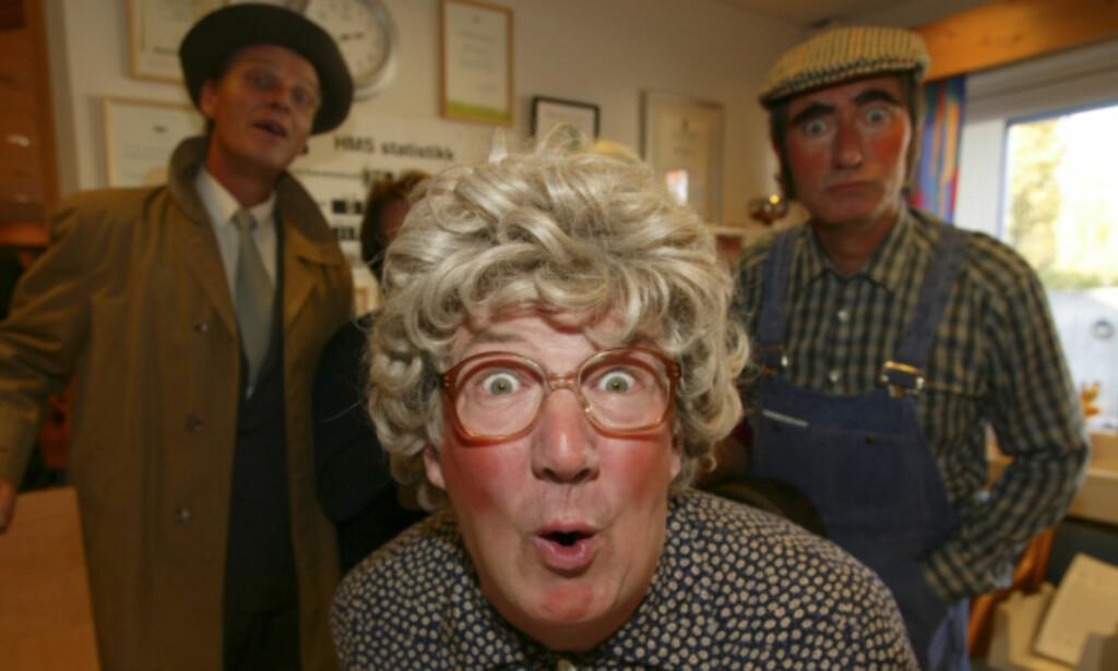 TIDLØS: Karakterene fra julekalenderen bergtar fortsatt nytt publikum, 23 år etter premieren. Foto: Se og Hør.