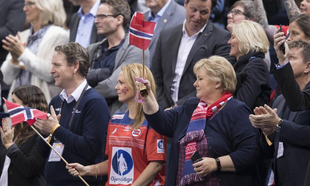 SVIKTET AV EUROPA: Linda Hofstad Helleland fikk full støtte av statsminister Erna Solberg og etter hvert også fra idrettspresident Tom Tvedt i forsøket på å bli WADA-president. Det forsøket stoppet i første hinder i går da Europa samlet seg om den polske kandidaten. Valget viser at internasjonal idrett ikke er klar for radikale reformer i kampen mot doping. FOTO: Vidar Ruud / NTB scanpix