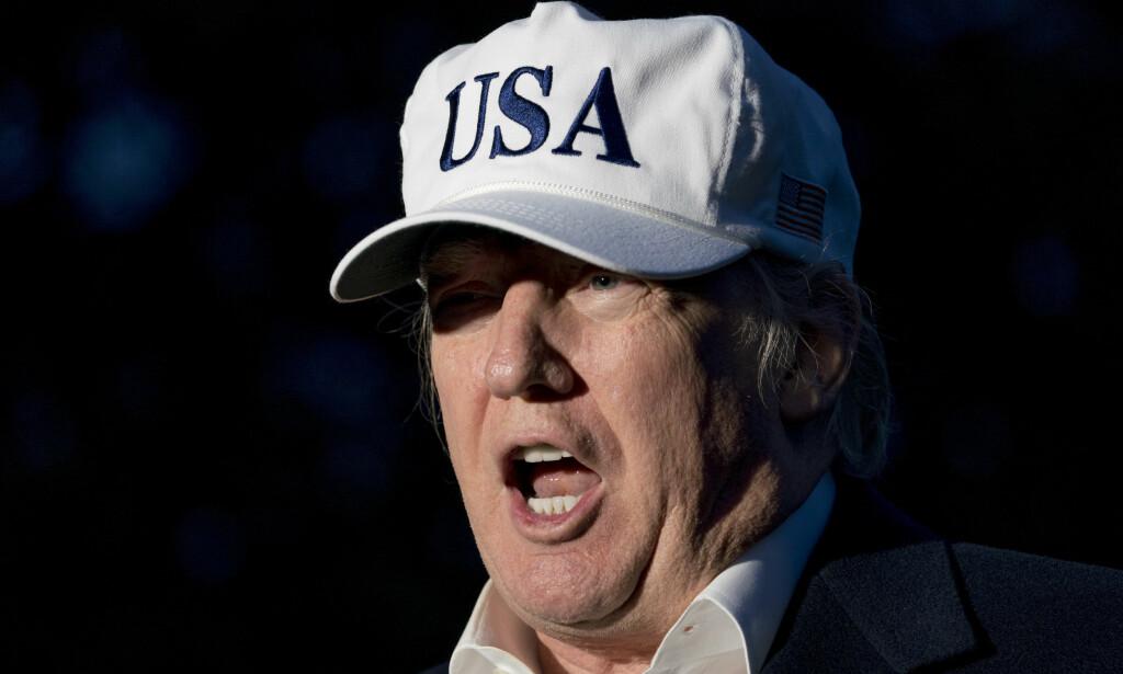 STEVNET: Donald Trumps forretningsorganisasjon er stevnet av spesialetterforsker Robert Mueller i Russland-etterforskningen. Foto: AP Photo/Andrew Harnik