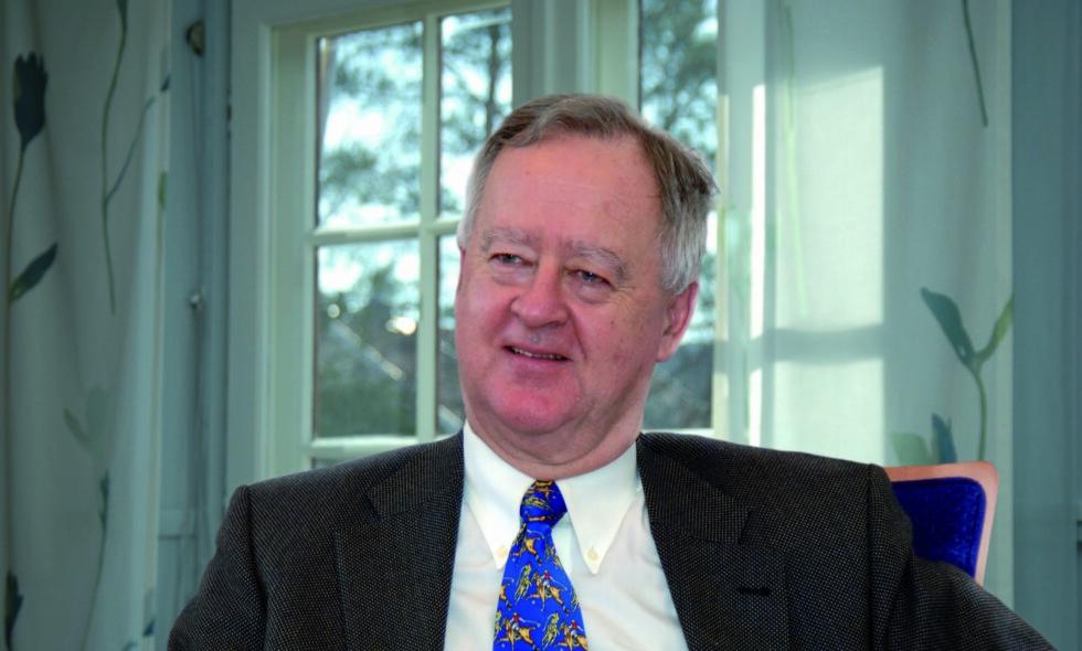 DØD: Gårdbruker og Høyre-politiker Johan C. Løken er død, 73 år gammel. Han var landbruksminister i Kåre Willochs regjering i årene 1981 til 1983.