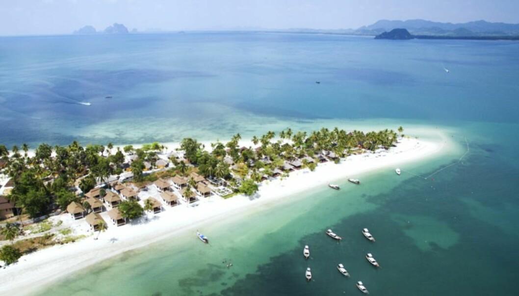 Dette er øya for deg som vil ha total avkobling under ferien. Foto: Restplass.no