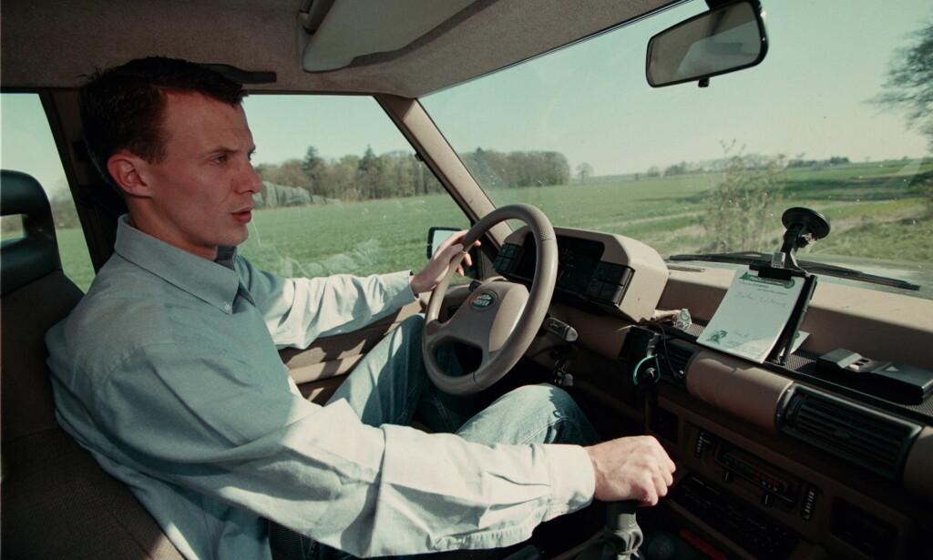 RÅKJØRER: Prins Joachim har flere ganger havnet i trøbbel for sin høye hastighet bak rattet. Foto: NTB scanpix