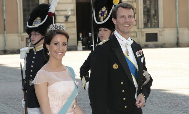 FANT LYKKEN IGJEN: I 2008 giftet prinsen seg med prinsesse Marie. Her avbildet i Stockholm i 2013. Paret har to barn sammen. Foto: NTB scanpix