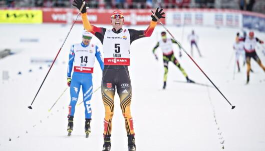 <strong>KONGEN:</strong> Johannes Rydzek ble VM-kongen i Lahti med fire gull. Foto Hans Arne Vedlog / Dagbladet