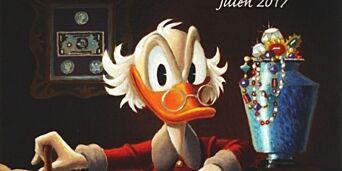 image: Julens hat trick fra den aller beste Donald-tegneren