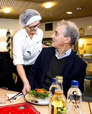 SPISEPAUSE: Tid for lunsj på Solborg Bo- og aktiviseringssenter i Ski.