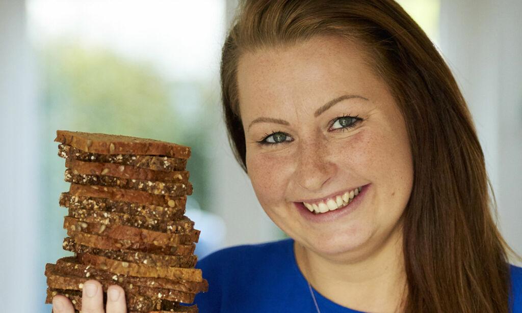 image: Ned i vekt med rugbrød: Sandra (32) gikk ned tre kilo på fem dager
