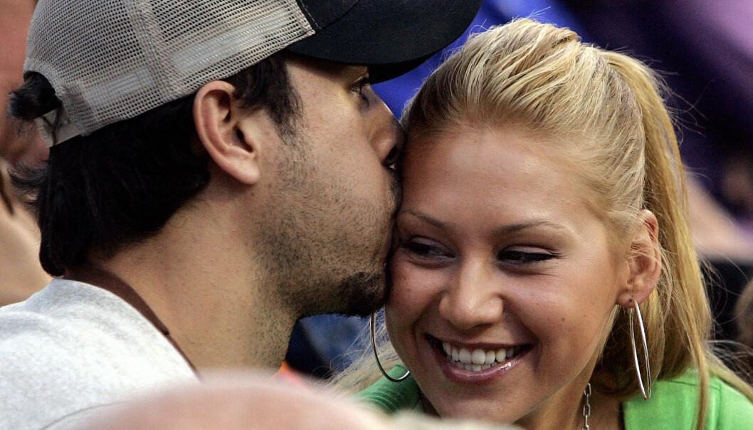 FAMILIELYKKE: Enrique Iglesias og Anna Kournikova har blitt foreldre for første gang. Foto: Buzzfoto.com